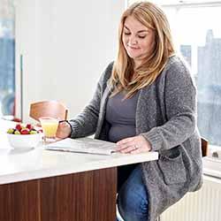 vrouw-schrijft-c-world-obesity